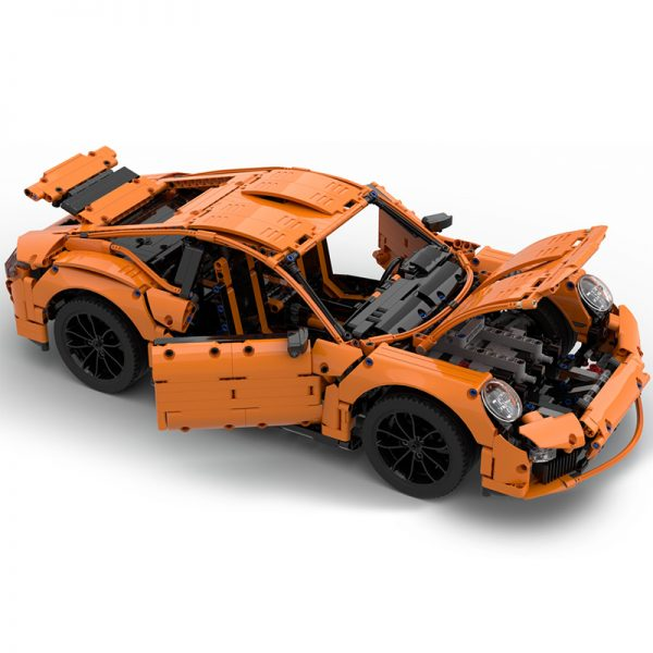 MOC 40207 Porsche 991 Carrera 2016 42056 B Model Technic by GeyserBricks MOC FACTORY 4 1 - MOC FACTORY