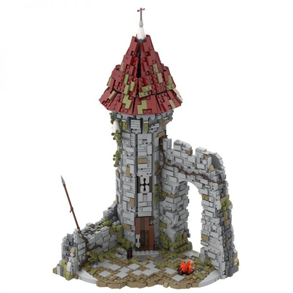 MOC 42261 Castle for the game Dark Souls Modular Building by povladimir MOC FACTORY 2 - MOC FACTORY