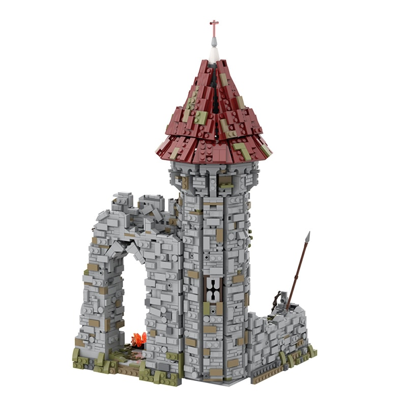 MOC 42261 Castle for the game Dark Souls Modular Building by povladimir MOC FACTORY 3 - MOC FACTORY