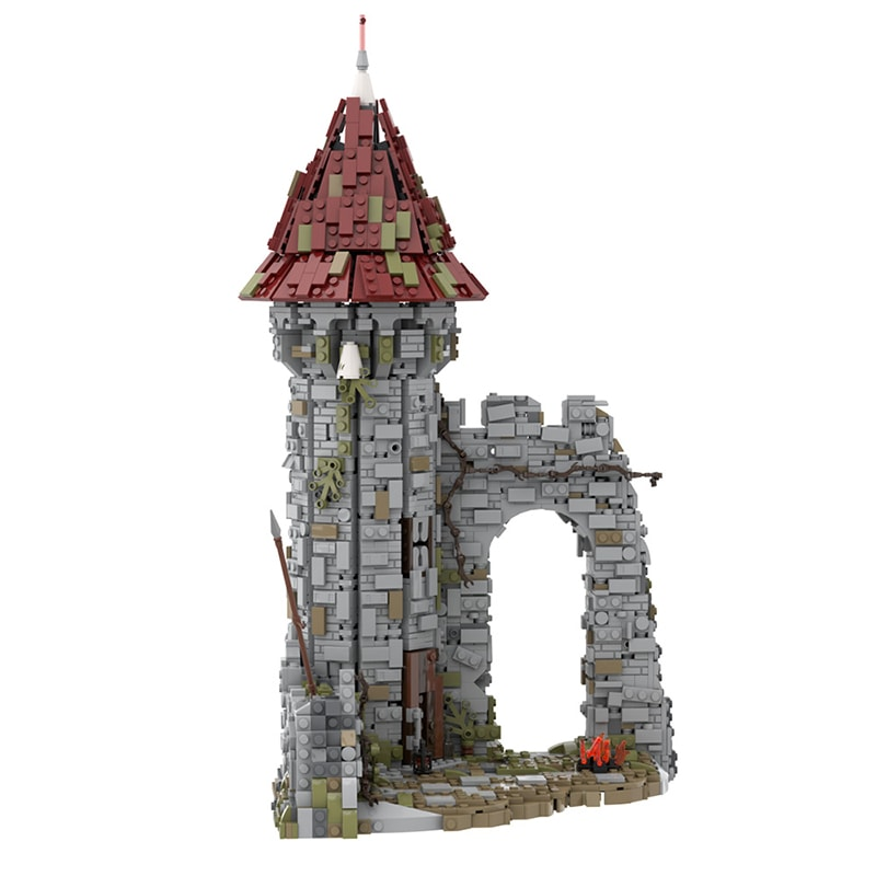 MOC 42261 Castle for the game Dark Souls Modular Building by povladimir MOC FACTORY 4 - MOC FACTORY