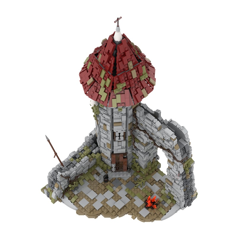 MOC 42261 Castle for the game Dark Souls Modular Building by povladimir MOC FACTORY 5 - MOC FACTORY