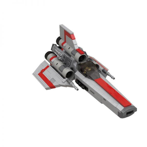 MOC 45867 Colonial Viper MK1 Version 20 Gray Space by apenello MOC FACTORY 2 - MOC FACTORY