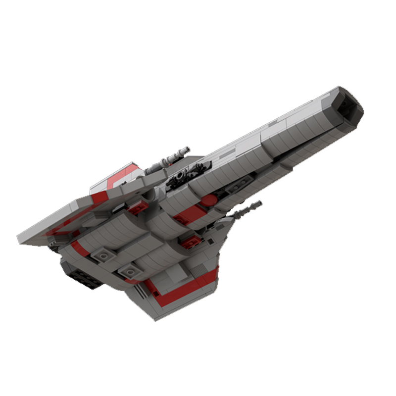 MOC 45867 Colonial Viper MK1 Version 20 Gray Space by apenello MOC FACTORY 4 - MOC FACTORY