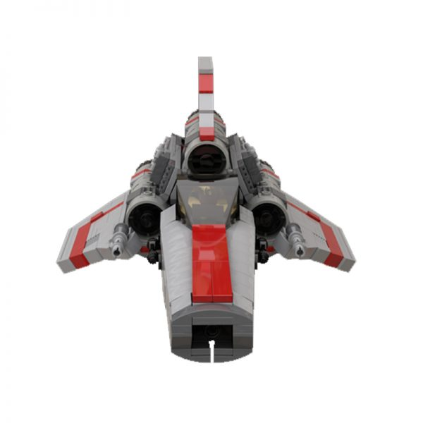 MOC 45867 Colonial Viper MK1 Version 20 Gray Space by apenello MOC FACTORY 5 - MOC FACTORY