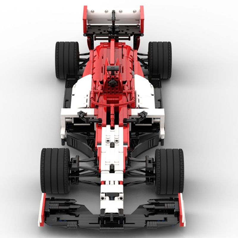 MOC 47178 Alfa Romeo Racing Orlen F1 C39 18 Scale Technic by Lukas2020 MOC FACTORY 5 - MOC FACTORY