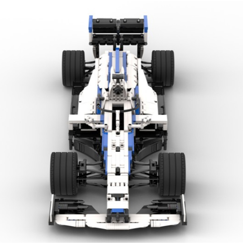 MOC 47392 Williams F1 Racing FW43 18 Scale Technic by Lukas2020 MOC FACTORY 2 - MOC FACTORY