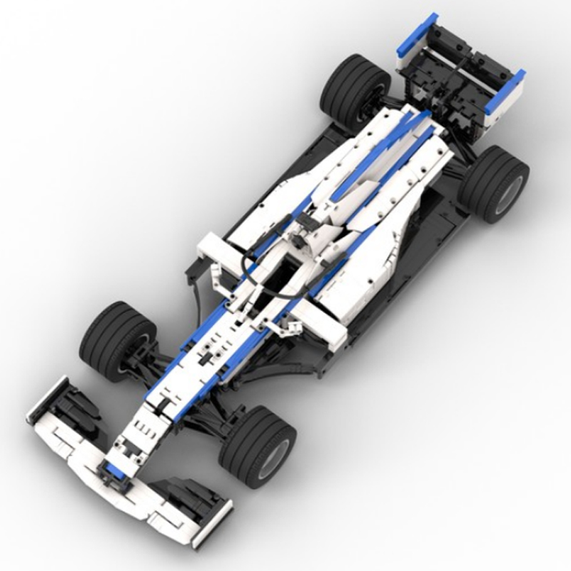 MOC 47392 Williams F1 Racing FW43 18 Scale Technic by Lukas2020 MOC FACTORY 3 - MOC FACTORY