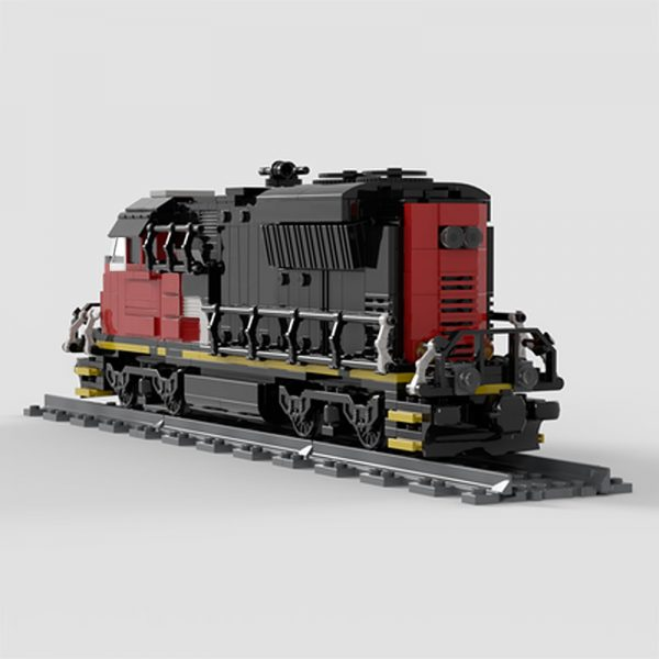 MOC 47989 Cargo Train EMD SD70M 2 CN Train Technic by Oninino MOC FACTORY 4 - MOC FACTORY