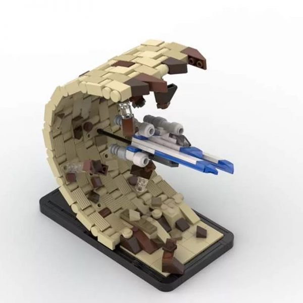 MOC 48198 There Is No Horizon Escape From Jedha Micro UWing Rogue One Star Wars by 6211 MOC FACTORY 2 - MOC FACTORY