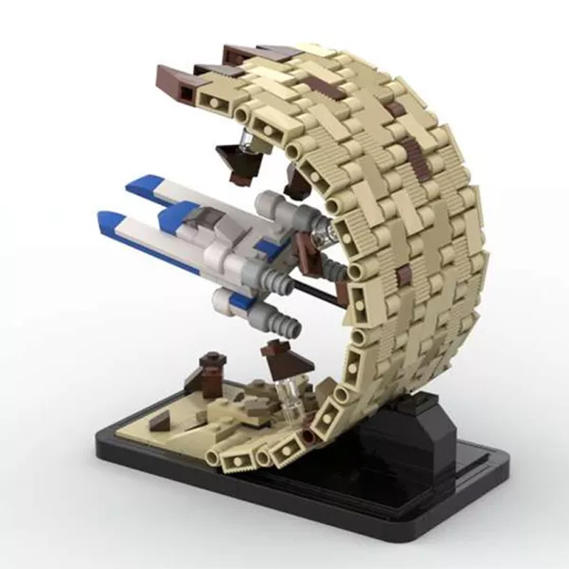 MOC 48198 There Is No Horizon Escape From Jedha Micro UWing Rogue One Star Wars by 6211 MOC FACTORY 4 - MOC FACTORY