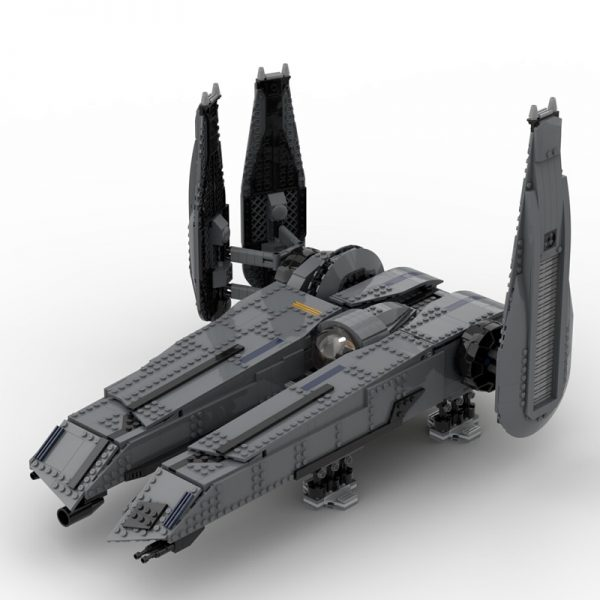 MOC 49201 The Rogue Shadow The Force Unleashed with interior Star Wars by Bruxxy MOC FACTORY 6 - MOC FACTORY