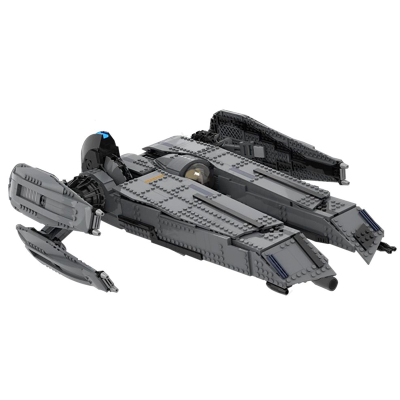 MOC 49201 The Rogue Shadow The Force Unleashed with interior Star Wars by Bruxxy MOC FACTORY 9 - MOC FACTORY