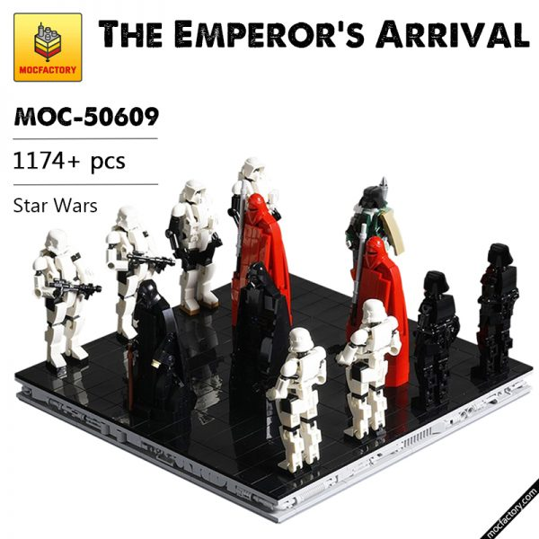 MOC 50609 The Emperors Arrival Star Wars by onecase MOC FACTORY - MOC FACTORY