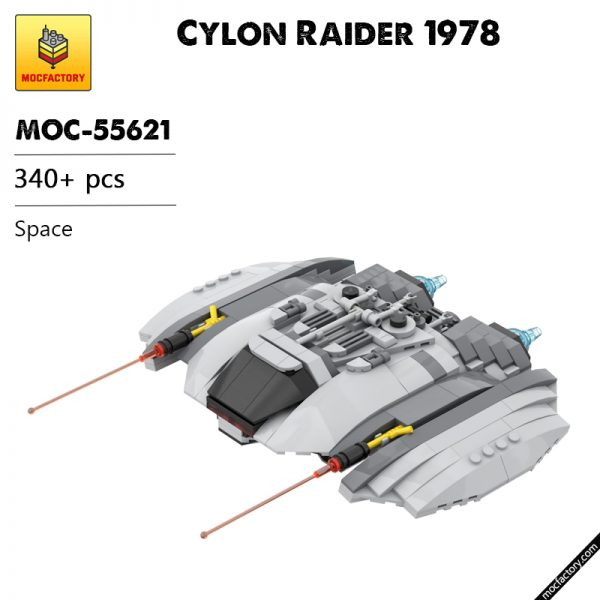 MOC 55621 Cylon Raider 1978 Space by Runescope MOC FACTORY - MOC FACTORY