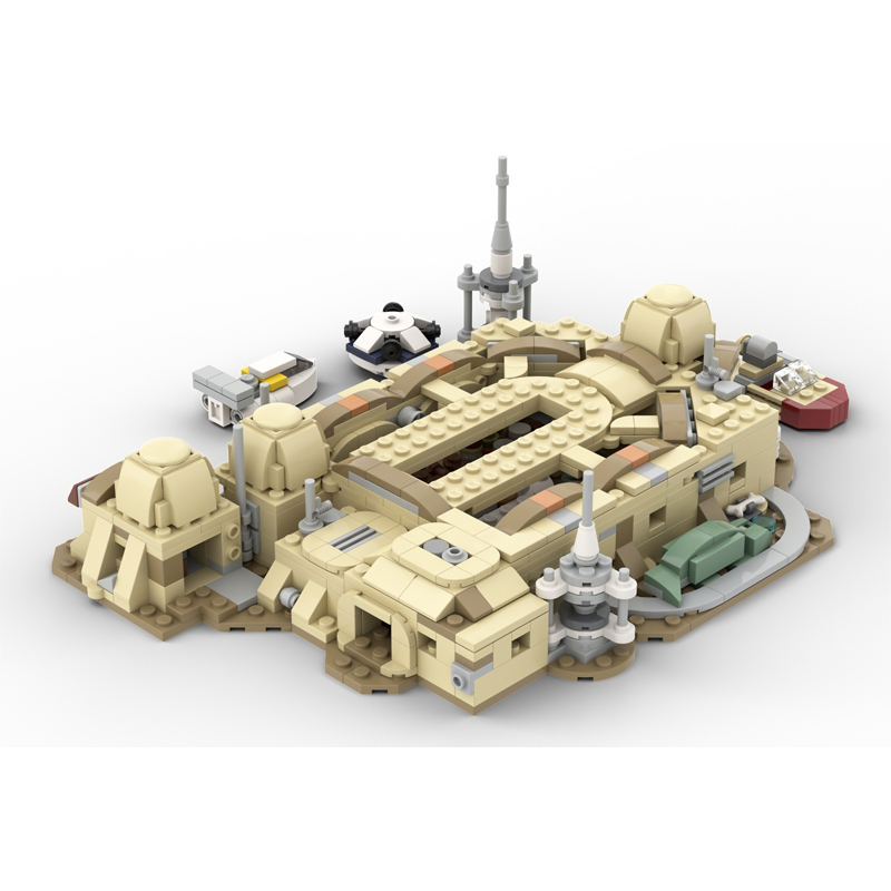 MOC 57537 Micro Mos Eisley Cantina Star Wars by ron mcphatty MOC FACTORY 3 - MOC FACTORY