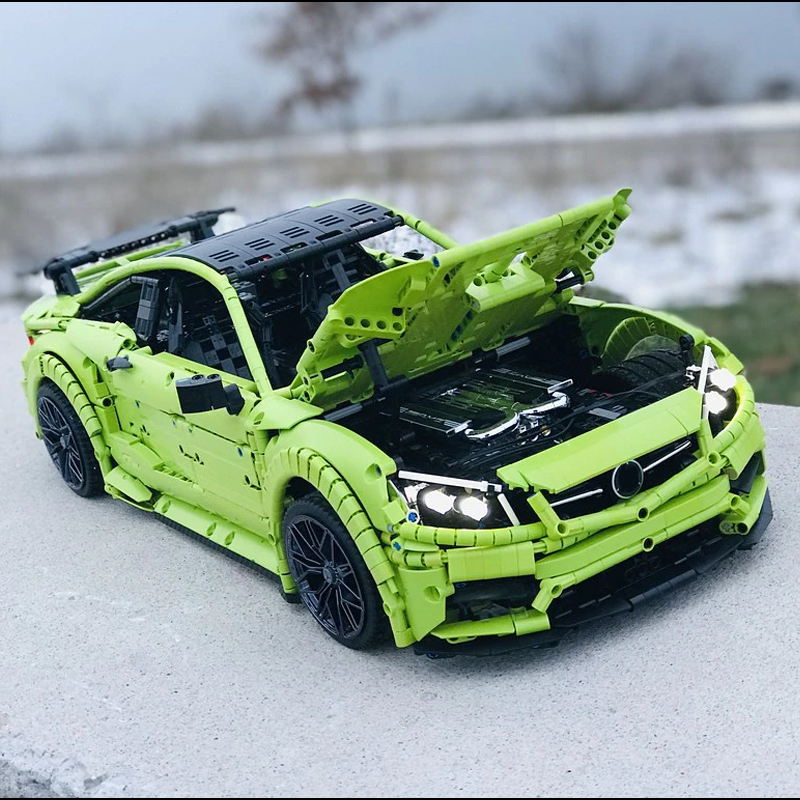 MOC 60193 Mercedes Benz C63 AMG Technic by Loxlego MOC FACTORY 2 - MOC FACTORY