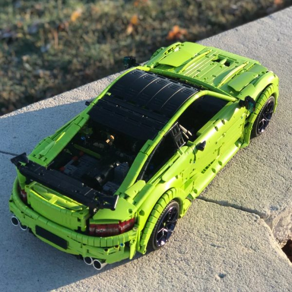 MOC 60193 Mercedes Benz C63 AMG Technic by Loxlego MOC FACTORY 4 - MOC FACTORY