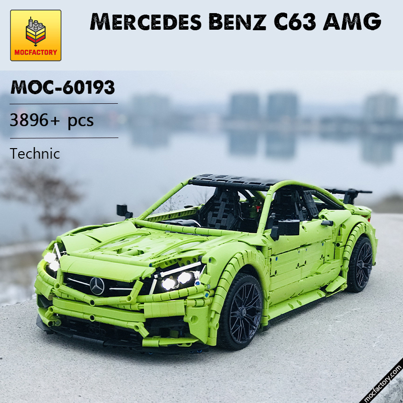 MOC 60193 Mercedes Benz C63 AMG Technic by Loxlego MOC FACTORY - MOC FACTORY