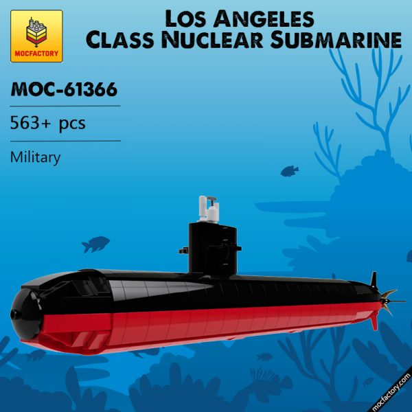 MOC 61366 Los Angeles Class Nuclear Submarine Military by veyniac MOC FACTORY - MOC FACTORY