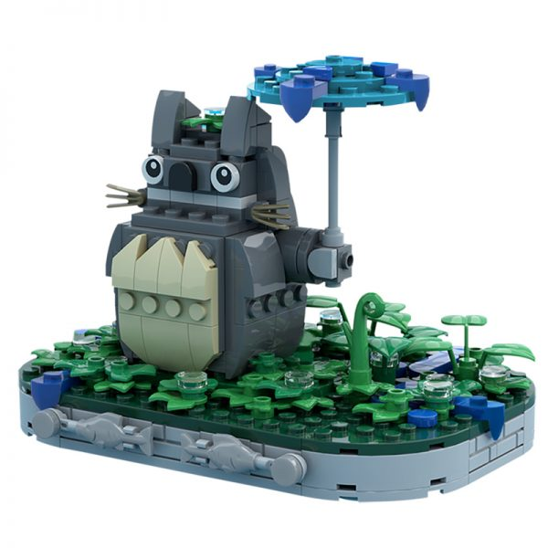 MOC 61784 Totoro Movie by Superesc MOC FACTORY 3 - MOC FACTORY