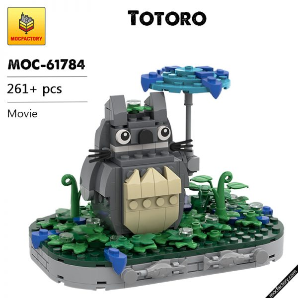 MOC 61784 Totoro Movie by Superesc MOC FACTORY - MOC FACTORY