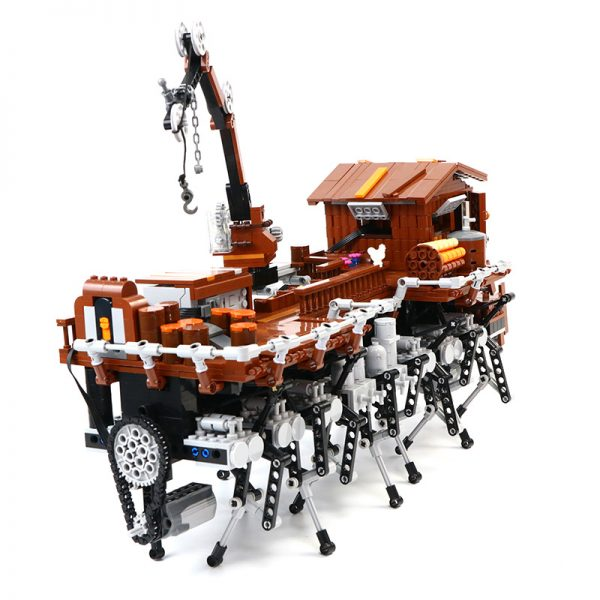 MOC 90067 Monster Beach with Power Function Movie MOC FACTORY 3 - MOC FACTORY