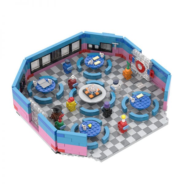 MOC 90068 The Restaurant in Among US Movie MOC FACTORY 2 - MOC FACTORY