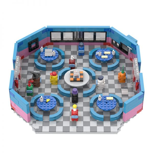 MOC 90068 The Restaurant in Among US Movie MOC FACTORY 3 - MOC FACTORY