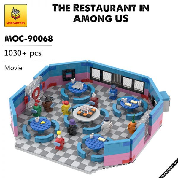 MOC 90068 The Restaurant in Among US Movie MOC FACTORY - MOC FACTORY