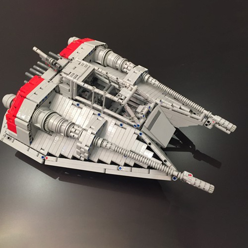 MOC 1671 Rebel Snowspeeder Star Wars by drakmin MOC FACTORY 2 - MOC FACTORY