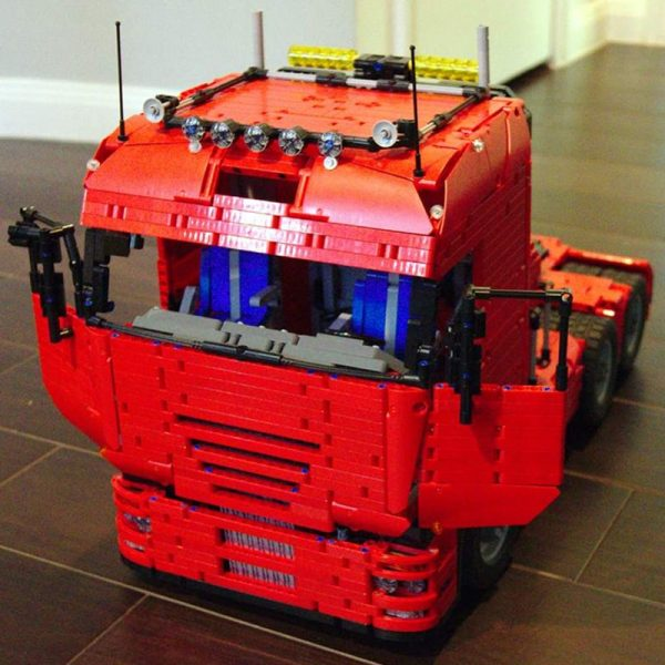 MOC 2475 Tractor Truck Technic by Lucioswitch81 MOC FACTORY 3 - MOC FACTORY