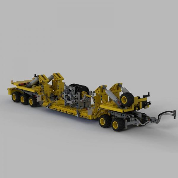 MOC 34732 Oshkosh M1070 Civil Version Tractor with Heavy Duty Trailer Technic by legolaus MOC FACTORY 2 - MOC FACTORY