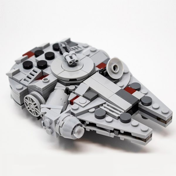 MOC 36401 Nin Jatos Mini UCS 20th Anniversary Millennium Falcon Solo Star Wars by Force of Bricks MOC FACTORY 3 - MOC FACTORY