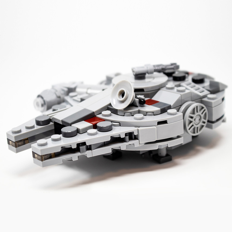 MOC 36401 Nin Jatos Mini UCS 20th Anniversary Millennium Falcon Solo Star Wars by Force of Bricks MOC FACTORY 4 - MOC FACTORY