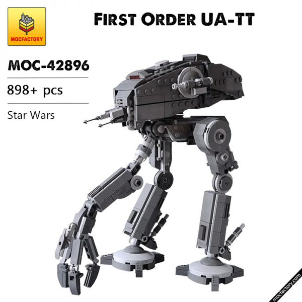 MOC 42896 First Order UA TT Star Wars by EDGE OF BRICKS MOC FACTORY - MOC FACTORY