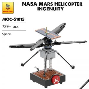 MOC 51015 NASA Mars Helicopter Ingenuity Space by Perijove MOC FACTORY - MOC FACTORY
