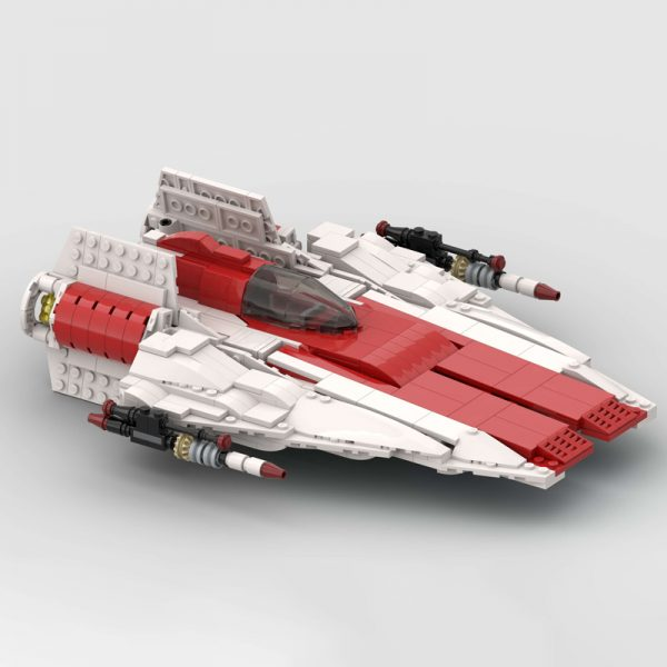 MOC 51096 RZ 1 A Wing Starfighter Star Wars by McGreedy MOC FACTORY 2 - MOC FACTORY