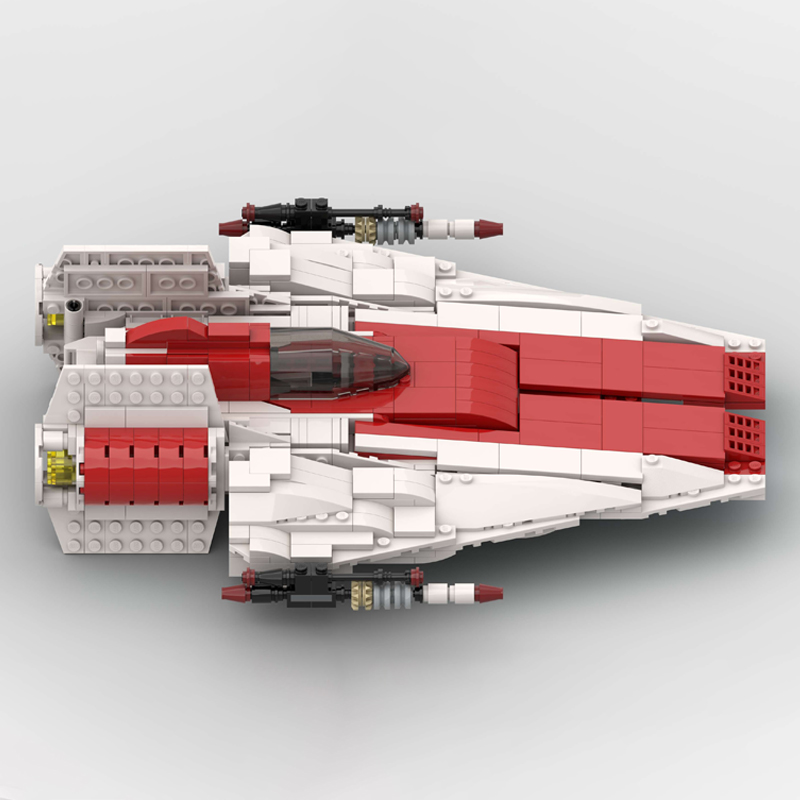 MOC 51096 RZ 1 A Wing Starfighter Star Wars by McGreedy MOC FACTORY 3 - MOC FACTORY