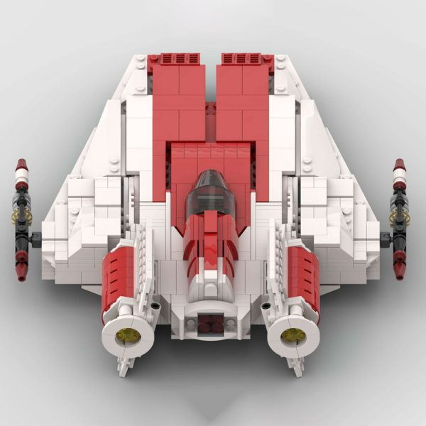 MOC 51096 RZ 1 A Wing Starfighter Star Wars by McGreedy MOC FACTORY 4 - MOC FACTORY