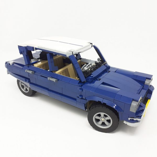 MOC 51611 10265 Citroen Ami 6 Technic by monstermatou MOC FACTORY 2 - MOC FACTORY