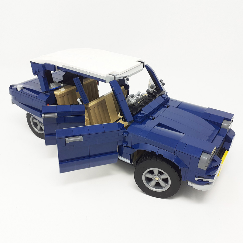 MOC 51611 10265 Citroen Ami 6 Technic by monstermatou MOC FACTORY 3 - MOC FACTORY