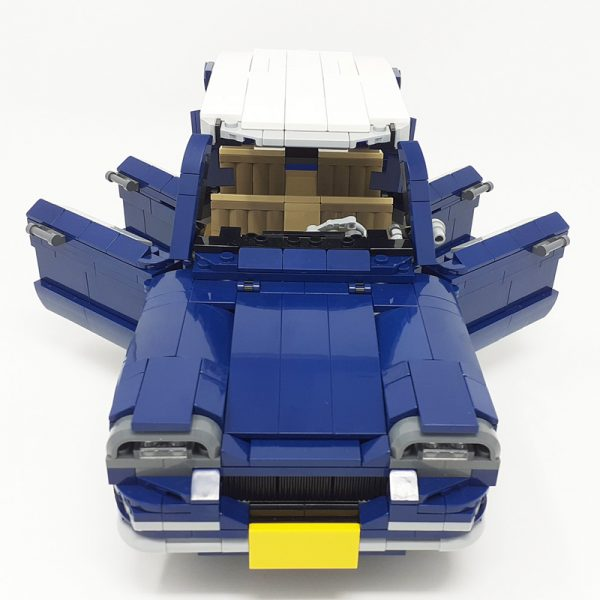 MOC 51611 10265 Citroen Ami 6 Technic by monstermatou MOC FACTORY 4 - MOC FACTORY