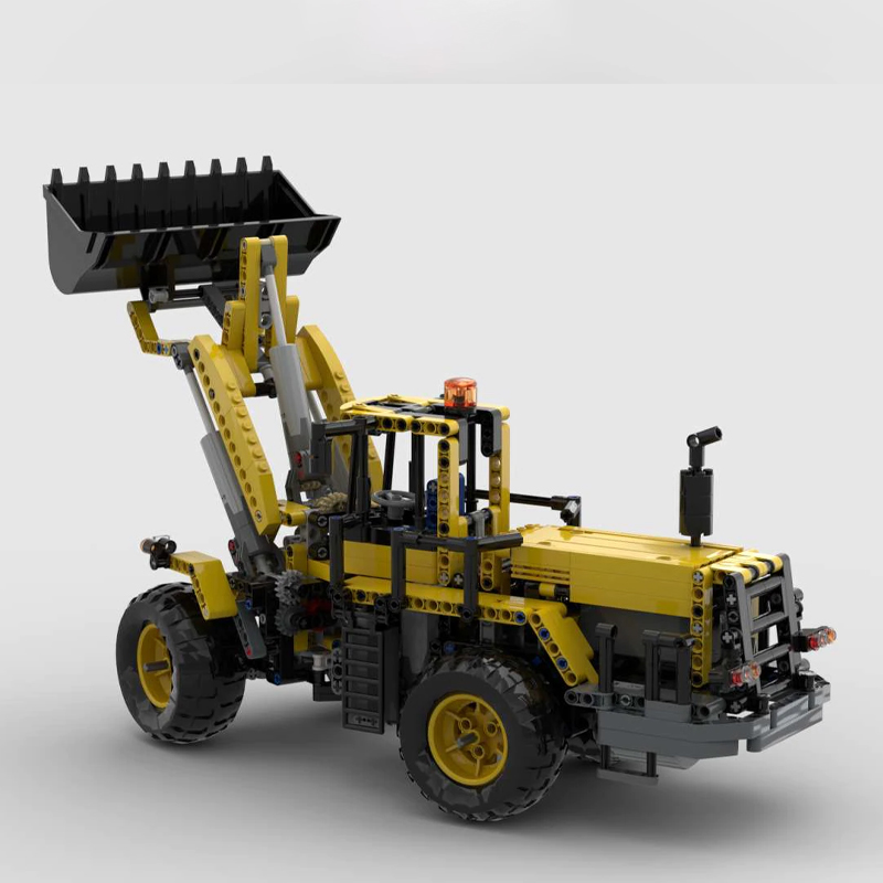 MOC 53796 Front Loader 8265 RC Technic by Edo99 MOC FACTORY 2 - MOC FACTORY