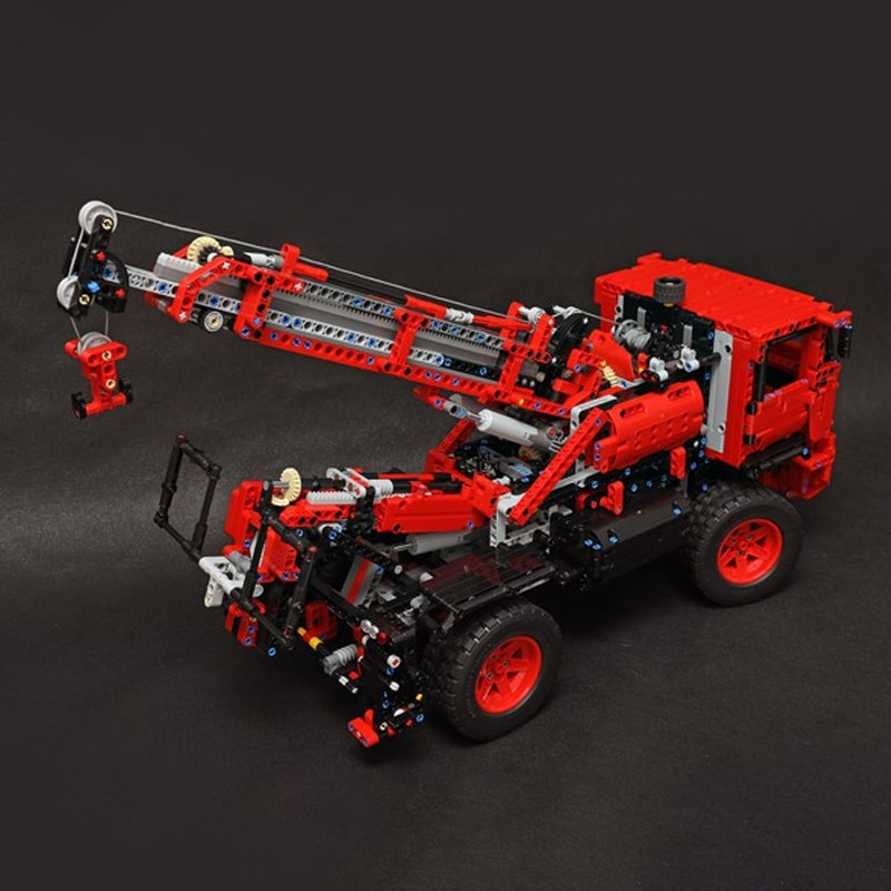 MOC 55834 Lego Tow Truck 42082 c model Technic by the lego technic channel MOC FACTORY 2 - MOC FACTORY