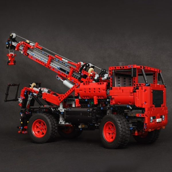 MOC 55834 Lego Tow Truck 42082 c model Technic by the lego technic channel MOC FACTORY 3 - MOC FACTORY