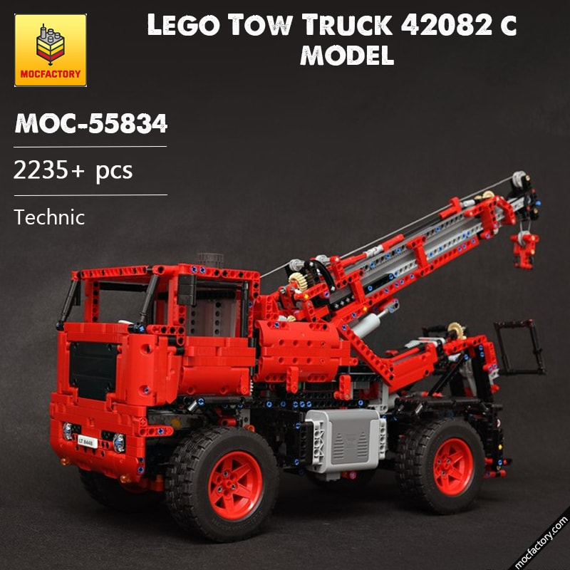 MOC 55834 Lego Tow Truck 42082 c model Technic by the lego technic channel MOC FACTORY - MOC FACTORY