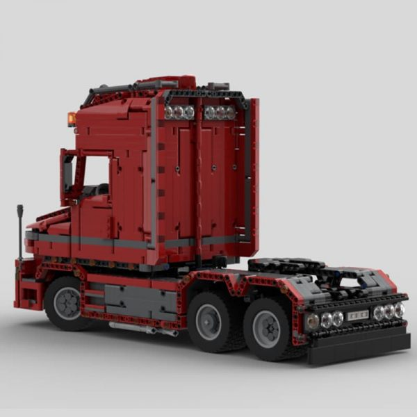 MOC 57465 Scania Truck T 580 Torpedo Technic by Furchtis MOC FACTORY 2 2 - MOC FACTORY