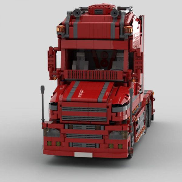 MOC 57465 Scania Truck T 580 Torpedo Technic by Furchtis MOC FACTORY 4 - MOC FACTORY