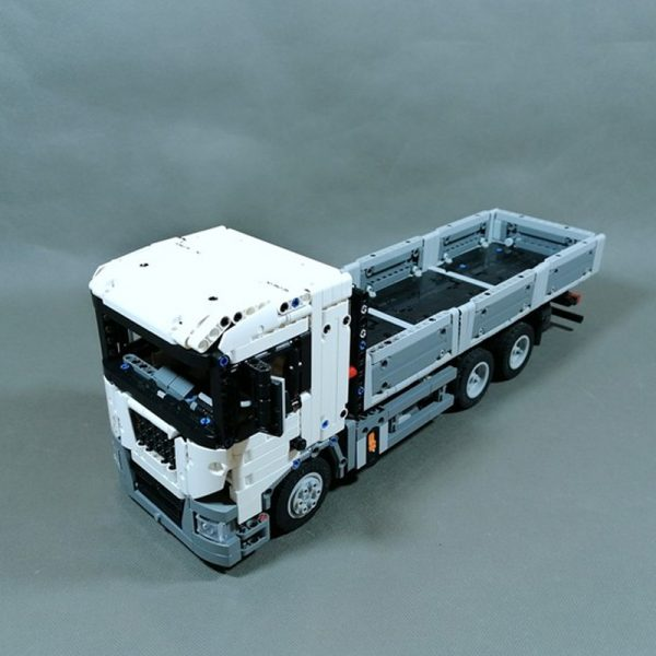 MOC 60643 Flatbed Truck Technic by DamianPLE Lego Garage MOC FACTORY 2 - MOC FACTORY