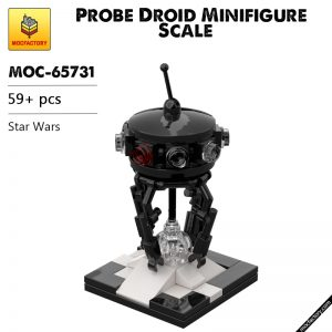 MOC 65731 Probe Droid Minifigure Scale Star Wars by Lupowhite MOC FACTORY - MOC FACTORY